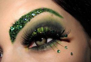 Макияж для зеленоглазых красавиц.