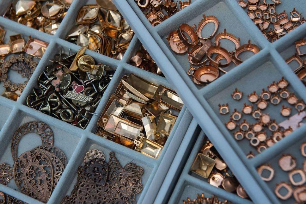 Разнообразие металлических компонентов Josef Bergs