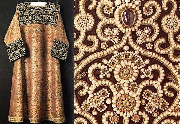 Древняя Русь была богата вышивкой