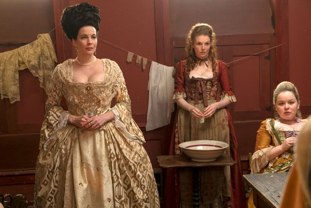 Женщины 18 века