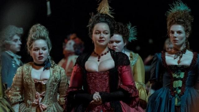 Модные платья 18 века