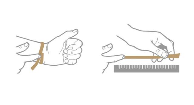 Как измерить размер запястья
